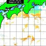 2011年11月26日の海水温分布図